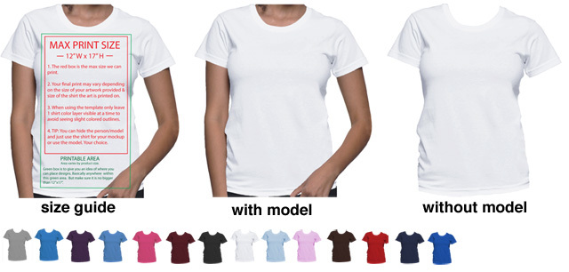 t-shirt template, gildan template, mockup t-shirt,