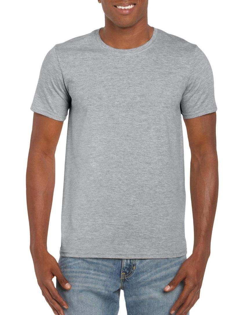 Grey Softstyle Gildan T-shirt