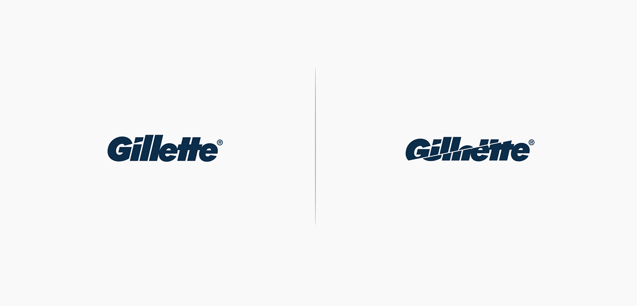 gillette affeted by the brand