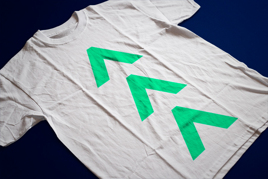 glyphs, personalised T-shirt
