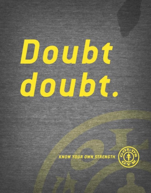 Gold's Gym marketing campaign
