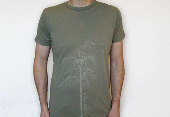 tree, faded, t-shirt, autumn, seasonal
