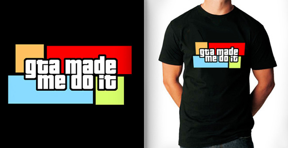gta, gta t-shirt, grand theft auto, video games, video games t-shirt