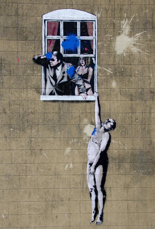 Banksy, Bristol Graffitis
