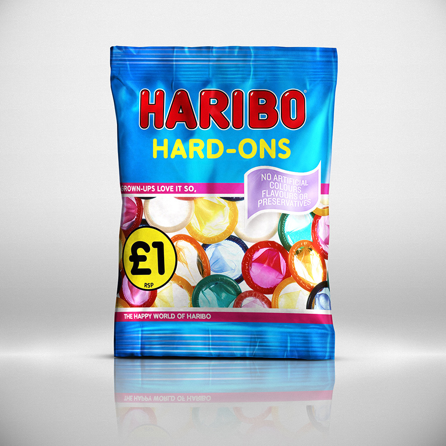 haribo condoms, haribo sex, haribo durex