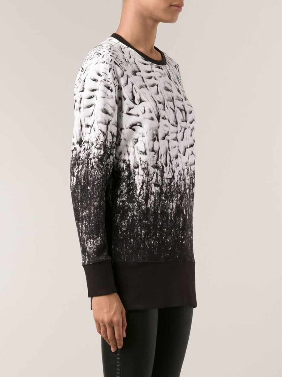 All-over print jumper by Helmut Lang