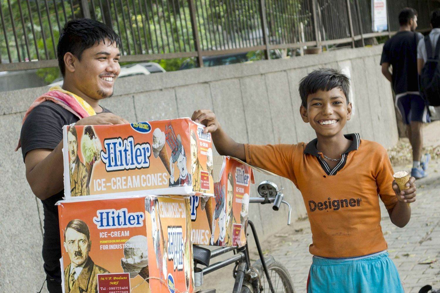 hitler ice cream, marketing fails