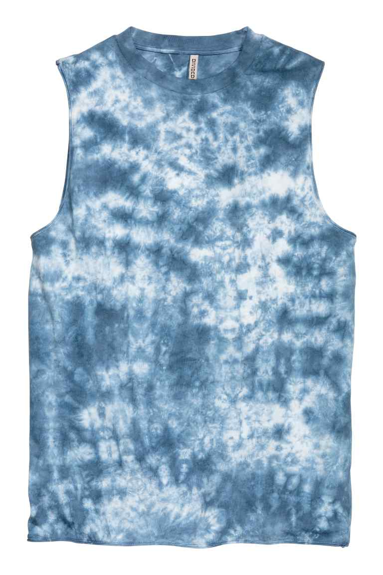 Tie dye vest top by H&M