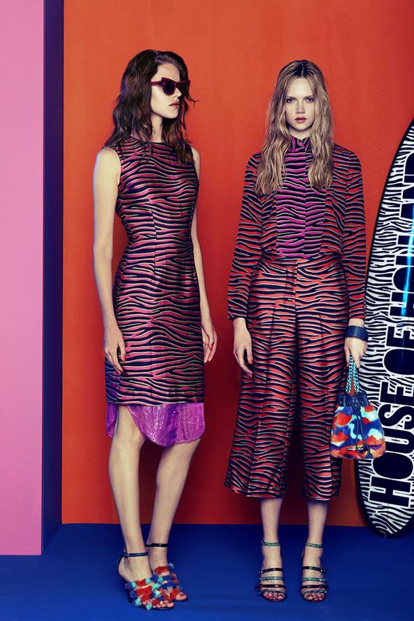 london, fashion, london fashion week, house of holland, models