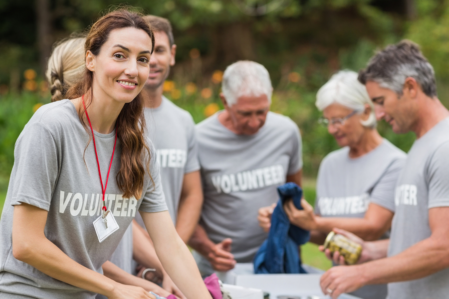 how to find volunteers for an event