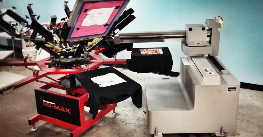 hybrid printing machine