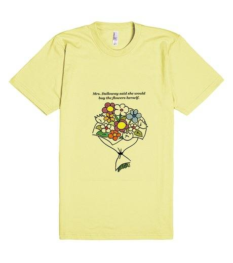 T-shirt quote, Mrs. Dalloway