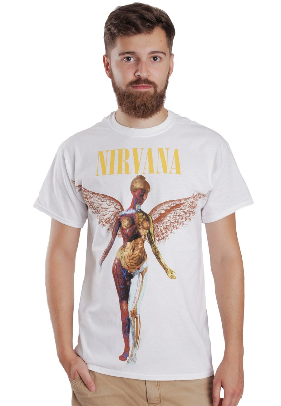 in utero nirvana t-shirt