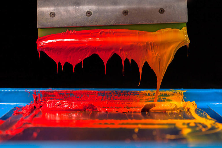 screen printing inks for gradients
