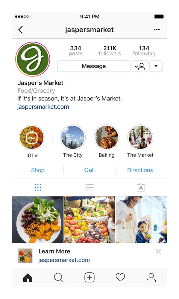Instagram Live - Business profiel