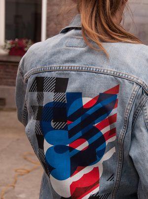 screen printed jacket