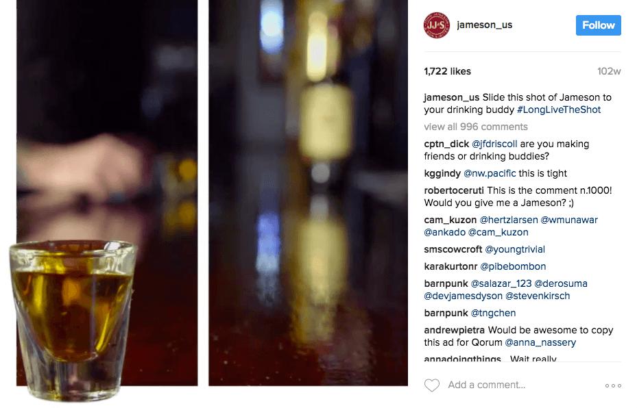 jamesson whiskey screenshot