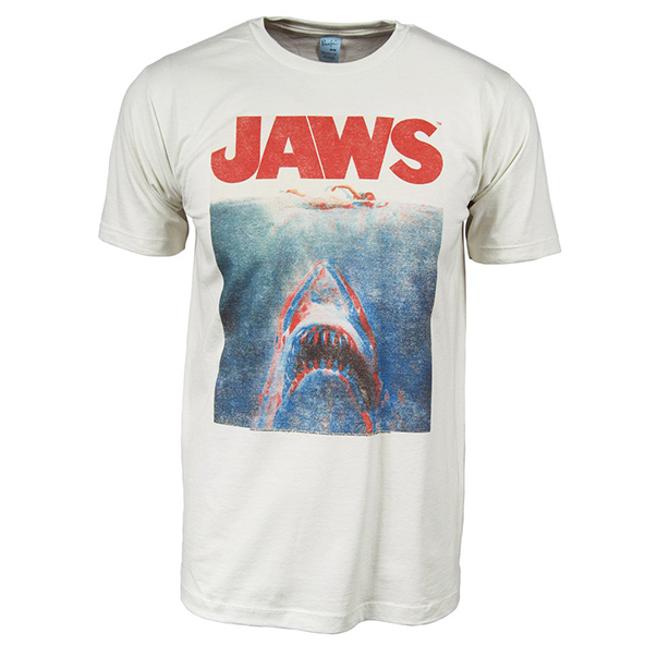 jaws, jaws t-shirt, vintage jaws t-shirt, scary movie, scary movie t-shirt