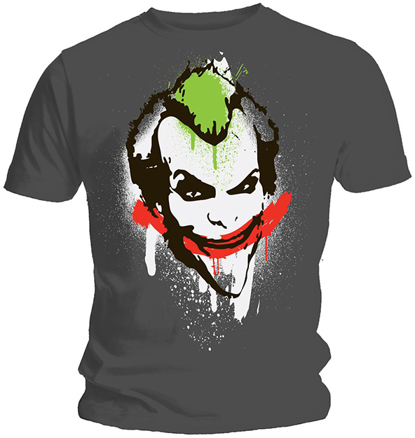 joker graffiti t-shirt, joker graffiti, graffiti t-shirt, t-shirt, graffiti t-shirts, direct to garment