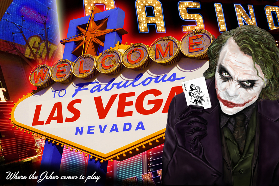 the joker, batman, las vegas, brand ambassadors, fictional brand ambassadors,