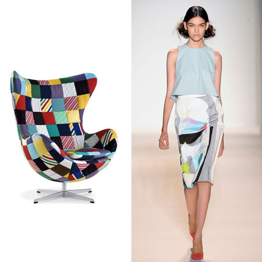 Outfit inspired by a chair