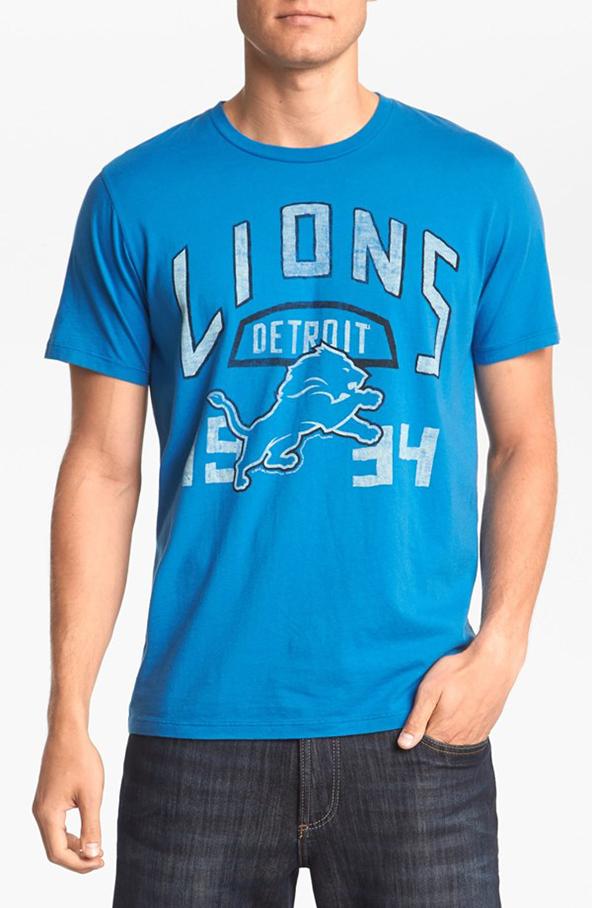 lions, detroit, t-shirt, nfl