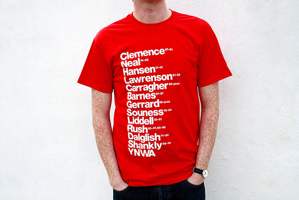 liverpool, you will never walk alone, premier league, screen printing, t-shirt