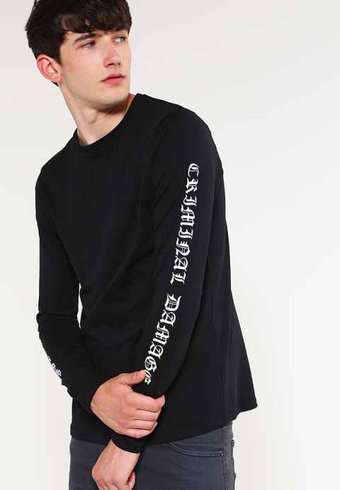 long-sleeved T-shirt, logo, asos