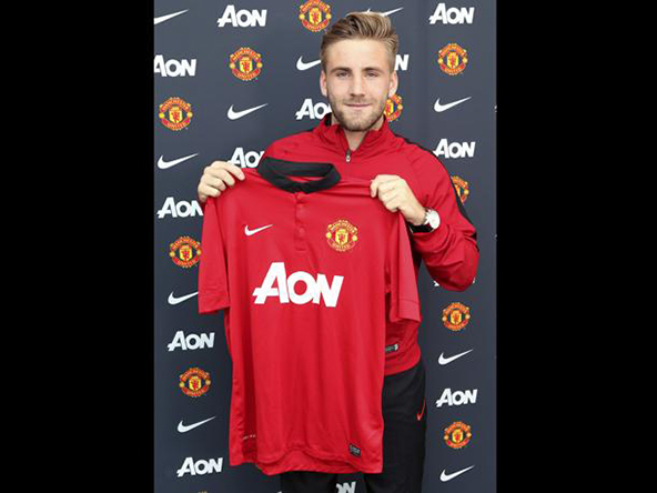 luke shaw, manchester united, premier league, football
