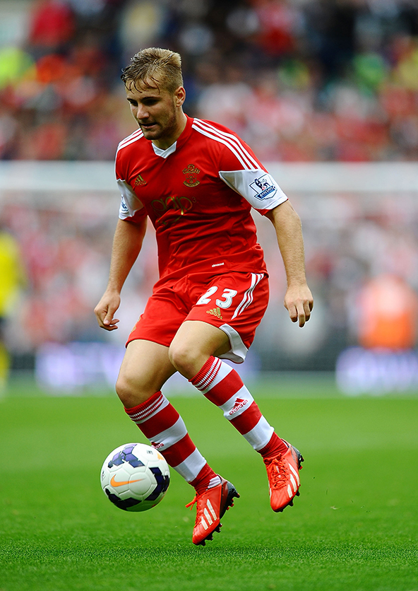 luke shaw, southampton, premier league, football