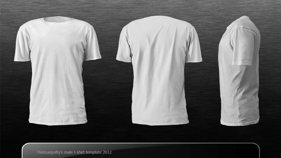 male t-shirt template,