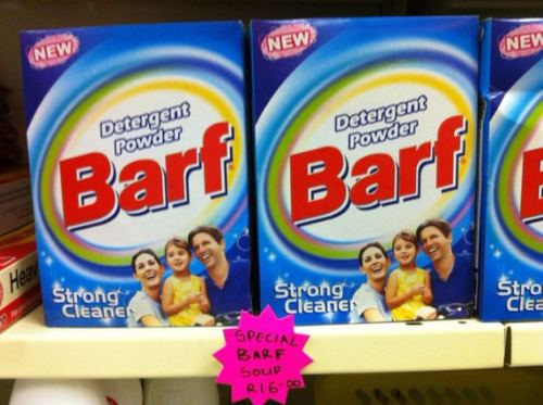 Marketing Fails: Barf