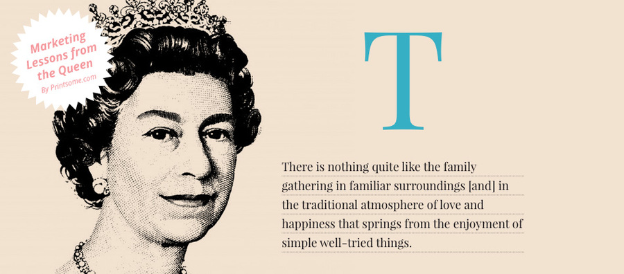 marketing lessons from the queen, marketing Elisabeth II, British Royal Marketing, marketing quotes from the Queen of England