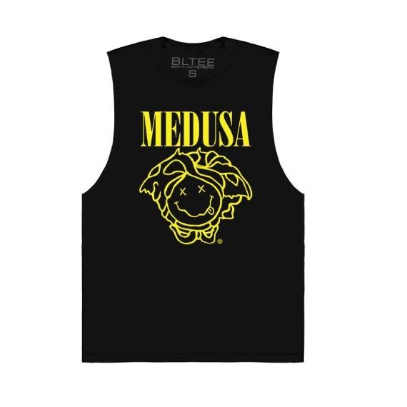 """Verace parody """"Medusa"""" vest by Brian Lichtenberg"""