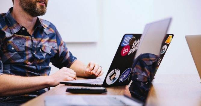 millennial marketing, header, laptops