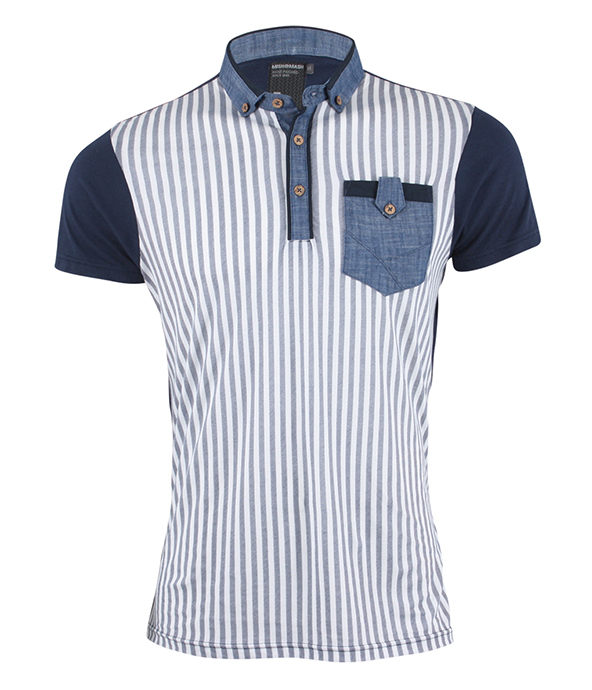 mish mash polo shirt, striped polo shirts, polo shirts, embroidery