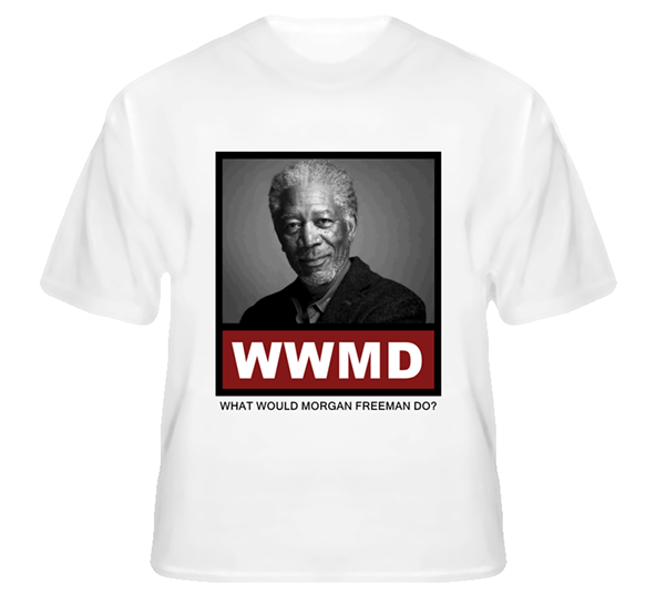 morgan freeman, wwmd, morgan freeman t-shirt,