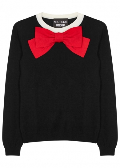 Moschino jumper with bow