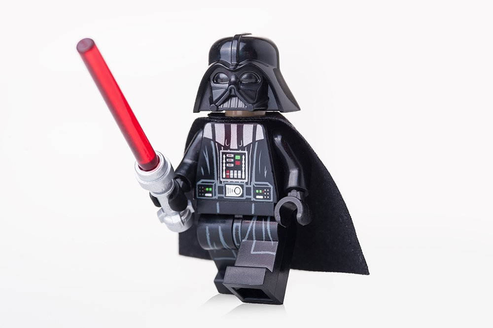 Movie and TV merchandise: Darth Vader LEGO
