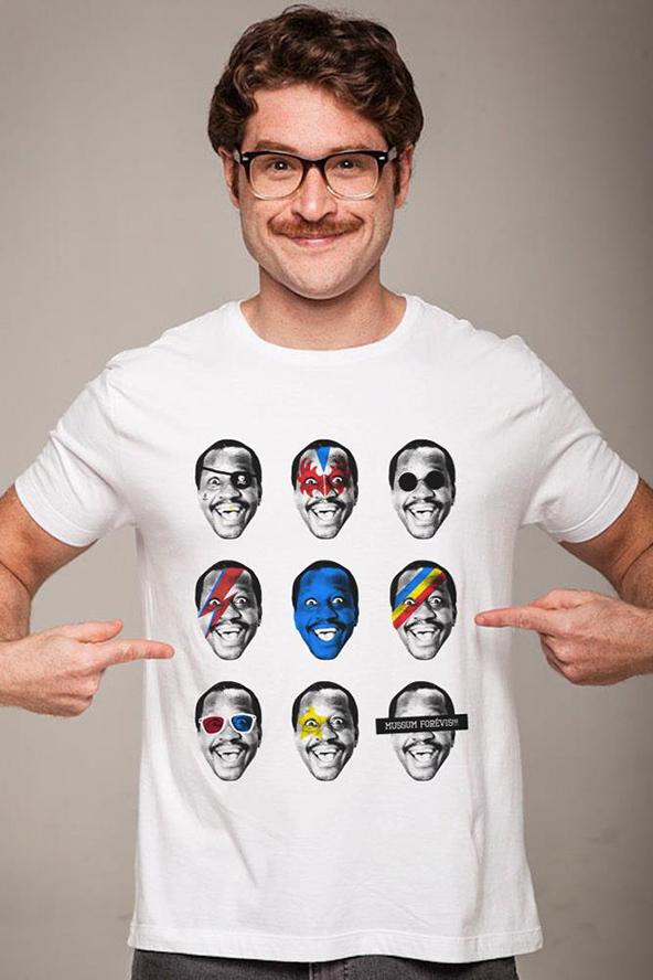 mussum, brazilian comedian, #tshirttuesday, t-shirt printing inspiration, design inspiration,