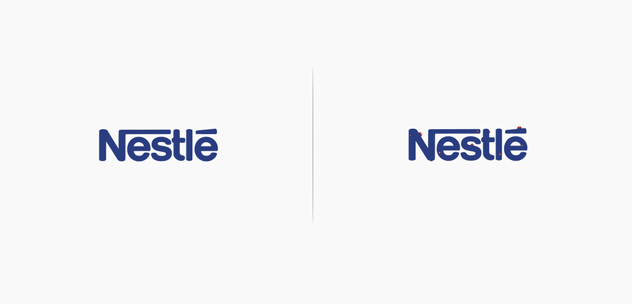 nestle affeted by the brand