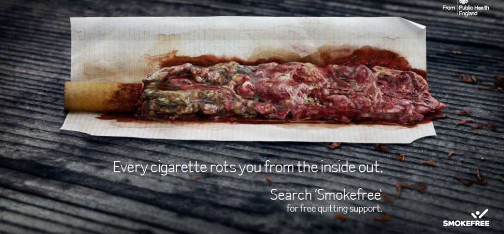 an analysis of the disgusting smoke of the cigarettes I kept a pack of cigarettes in the freezer  and i told myself, hey, i don't really smoke because smoking is disgusting advertisement - continue reading below.