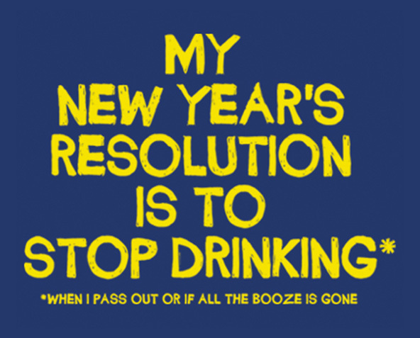 new years, new years resolution, new years resolution t-shirt