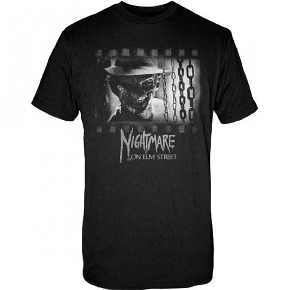 nightmare on elm street, nightmare on elm street t-shirt, freddy krueger, freddy krueger t-shirt, halloween, scary
