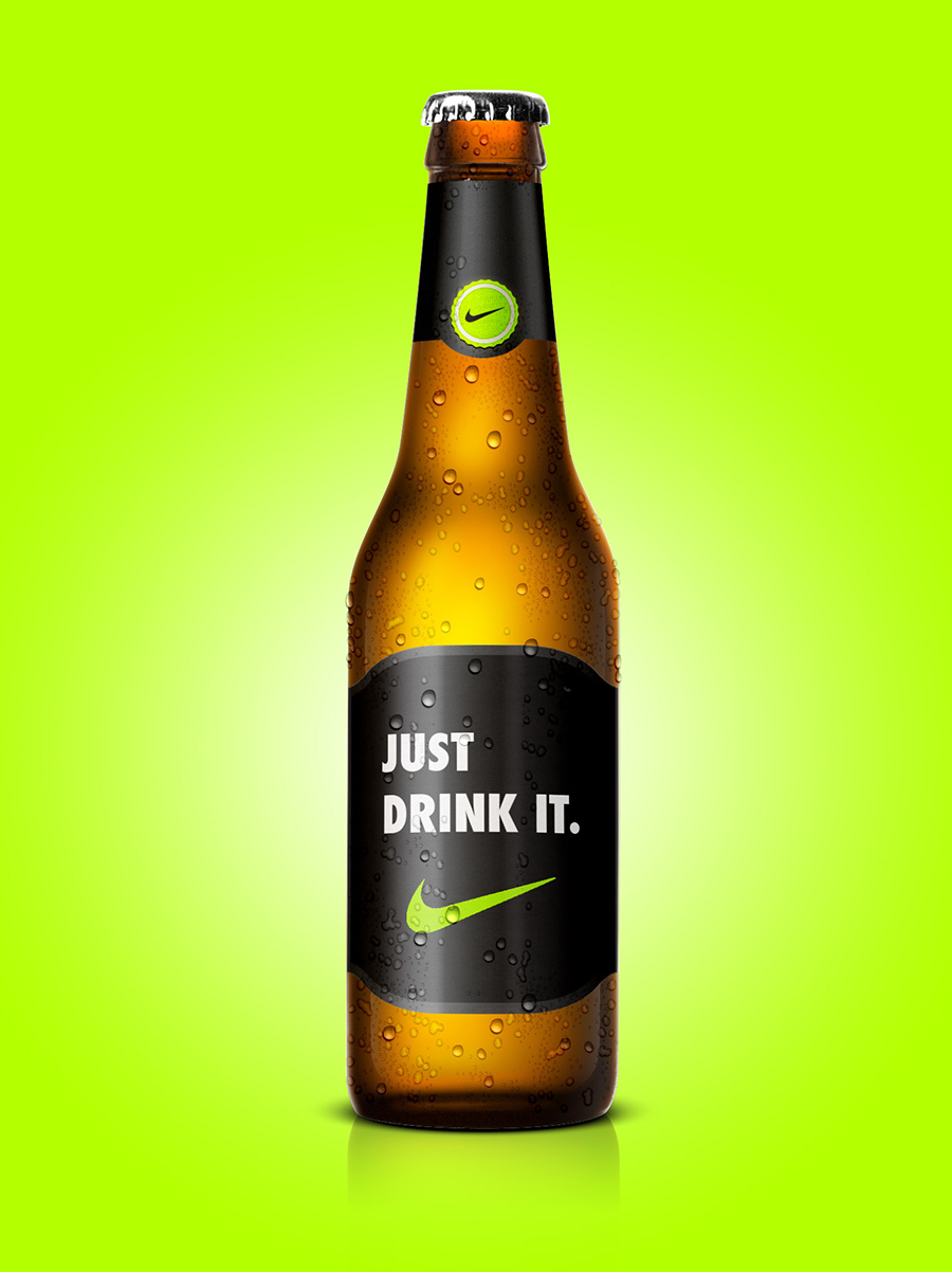 Nike Beer, Beer Designs, Brands into Beers