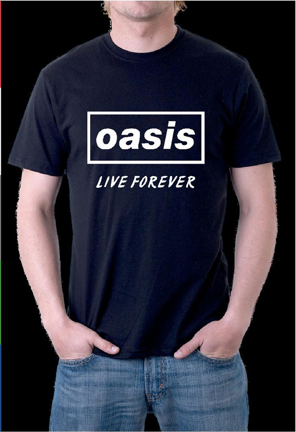 oasis, oasis t-shirt, pop band t-shirt, 90s band t-shirt