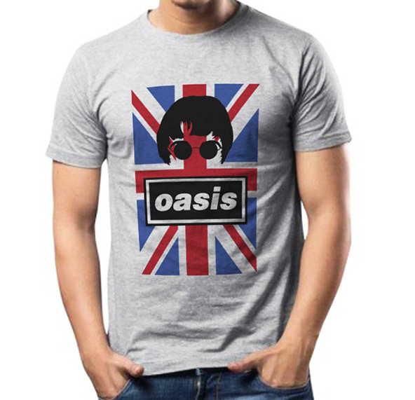 oasis, oasis t-shirt, oasis british t-shirt, pop band t-shirt, 90s band t-shirt