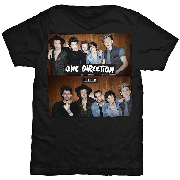 one direction, one direction four t-shirt, one direction four, one direction t-shirt