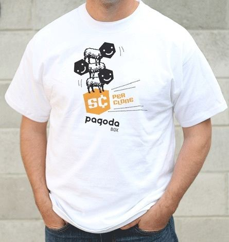 "Pagoda Box ""Start-up T-shirts"""