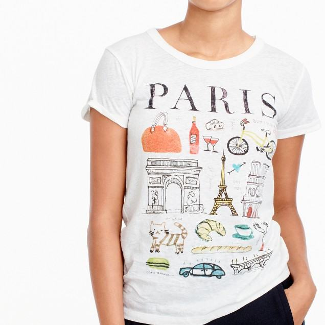 Paris, Tourist T-shirts